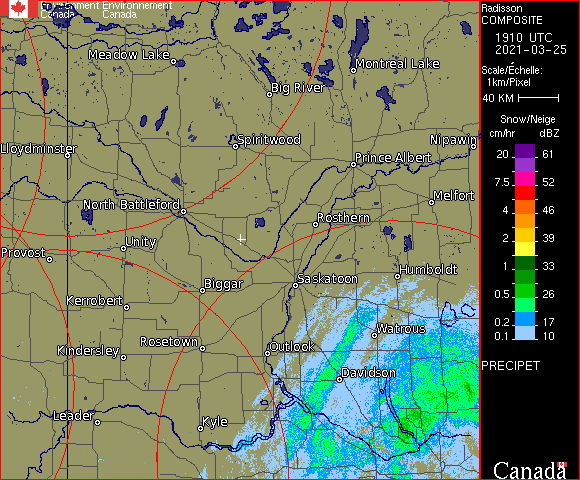 Weather Radar - Radisson, SK - Environment Canada